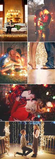 It's the Season of Love! 25 Cute Christmas Couple Photo Ideas that Say Love!