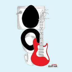 19-11-2016. World Toilet Day. My first guitar amp by Juan Ponte. #guitaramp  #toilet #wc  #toilette #worldtoiletday #marshallamps #fenderamp #guitar #guitarart #luthier #guitarbyjuanponte #guitarstand #surrealguitar #surrealism #illustration #prints #graphicdesign #drawings #fender #fenderguitars #stratocaster #strat #fendersofinstagram #redstrat #fendercustomshop #hardrockcafe #yorokobu #picame #graphicdesigncentral