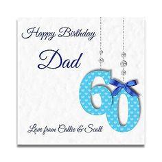 Handmade Personalised Mens 60th 70th 80th Uncle Dad Grandad Son Birthday Card Cards