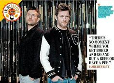 Jamie and Damon Qmagazine