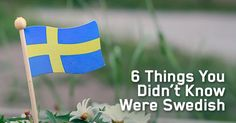 While we all know IKEA is Swedish, Swedes have been contributing to science and technology for centuries. Here are six things you didn't know were Swedish.