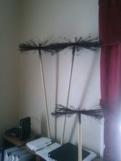 Chimney sweep brushes. Mary Poppins