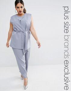 b46b8699de90 Lavish Alice Plus Belted Vest Culotte Jumpsuit -- You can find out more  details at