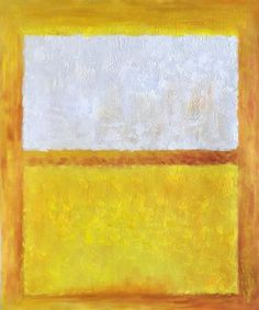 mark rothko untitled white orange and yellow paintings