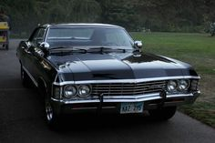 Chevrolet Impala 1967, I really really want this car! its Sam and Deans from Supernatural!