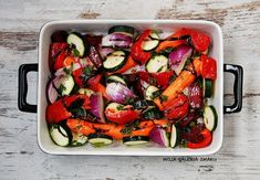 Galeria Smaku: Warzywa pieczone z miodem