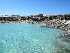 Look at the water at Es Caló!!! (Formentera)