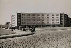 Warszawa - plac Inwalidów (lata 30. XX w.)
