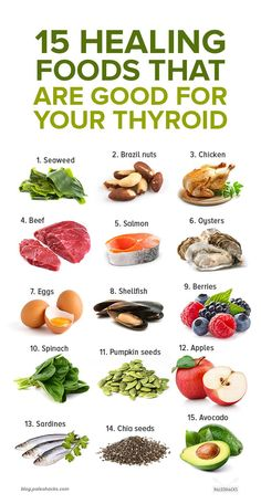 Eat These 15 Foods Every Week if You Have a Thyroid Disorder : Eat more of these nutrient-dense power foods to feed and nourish your thyroid. Make sure to get enough vitamins and minerals to nourish that butterfly gland. Foods Good For Thyroid, Thyroid Diet, Foods That Heal, Health And Nutrition, Health Tips, Pet Health, Nutrition Bars, Health Resources, Tongue Health