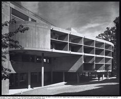 Le Corbusier, Carpenter Center for the Visuals Arts, Cambridge, Massachussets Photo: Julius Schulman