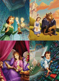 Beautiful Disney Princess BELLE!