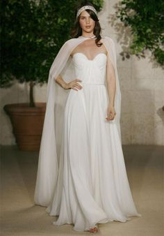 pagan weddings | ... Pagan wedding dresses - Pagan bridesmaid dress - Pagan wedding dress. A sheer cloak beats sleeves anytime!