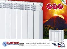 Aluminiowy Grzejnik WULKAN w Sanitermo  #radiator   #grzejnik