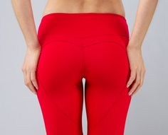 Nin B Roze Heart Butt leggings. Available in full length and capri ...