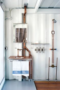 33 Industrial Interiors That Features Open Pipes