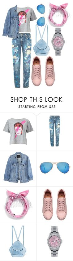 """""""FunkyPastel"""" by jhoanna-marie ❤ liked on Polyvore featuring Miss Selfridge, Polo Ralph Lauren, Y/Project, Ray-Ban, Piers Atkinson, MANU Atelier and Rolex"""
