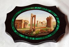 Micro Mosaic Grand Tour Paperweight