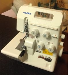 Craft House Magic: Juki MO654DE serger review