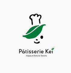 Pattiserie Kei by masaomi fujita, via Behance,super cute chef logo with a toque Typography Logo, Logo Branding, Branding Design, Corporate Branding, Brand Identity, Logo Character, Japan Logo, Mascot Design, Japanese Graphic Design