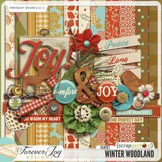 Scrap kit cold winter woodland part 101 png Printable Scrapbook Paper, Scrapbook Organization, Scrapbook Embellishments, Cool Landscapes, Cover Pages, Logs, Digital Scrapbooking, Digital Papers, Woodland