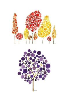 Nos arbres à la manière de Angela Vandenbogaard Cross Stitch Tree, Doodle Lettering, Land Art, Oeuvre D'art, Art School, Diy Art, Cover Art, Art For Kids, Art Drawings