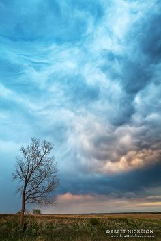 """Turbulent"" by storm chaser Brett Nickeson"