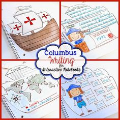 Have some FUN on Columbus Day with a GREAT BOOK, add a bit of map skills, and some interactive activities and it is a home run for the day!