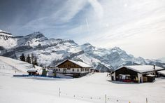 Schneeimbiss in Les Diablerets