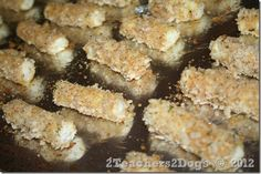 oven baked cheese sticks