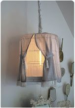light fixture out of a bird cage
