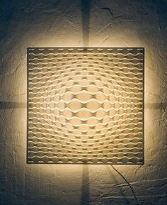 Vasarely Wall Light - modern - wall sconces - Interior Deluxe