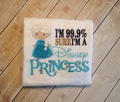 Sure Im a Disney Princess by KoutureKid on Etsy