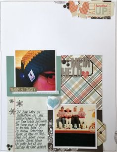 This layout was greatly inspired by a layout from Jen Schow  who is a guest designer for Cocoa Daisy this month. I loved the idea of maki...