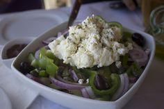 BORN AND BREAD: Wedding Wednesday: Honeymoon (Milos, Part 1} greek salad