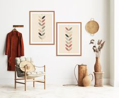 Modern Prints, Modern Wall Art, Mid-century Modern, Art Prints, Orange Wall Art, Orange Walls, Mid Century Modern Art, Mid Century Art, Portrait Wall