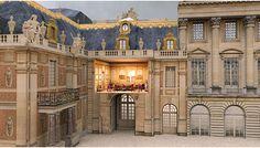 SketchUp model of Versailles in 1793