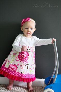 DIY Onesie Dress best-dressed-baby