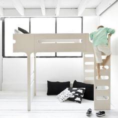 Letto a soppalco F Bunk Bed + materassoBabymama