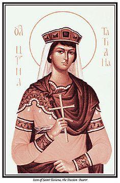 St Tatiana Passion Bearer