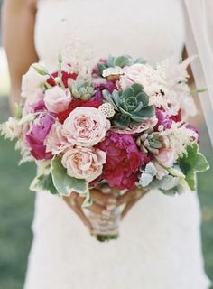 Bouquet Mint and Pomegranate inspiration | Ispirazione verde menta e rosso melograno | http://theproposalwedding.blogspot.it/