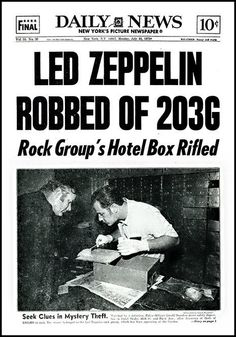 NY hotel...still unsolved 39 years later. (This was featured in 'Song Remains the Same')