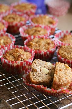 Paleo Apple Cinnamon Muffins by Perry's Plate for JavaCupcake.com
