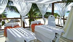 #JSSpa - Le Rêve Hotel & Spa: The on-site spa offers pampering massage and facial treatments in a breezy, oceanfront setting.
