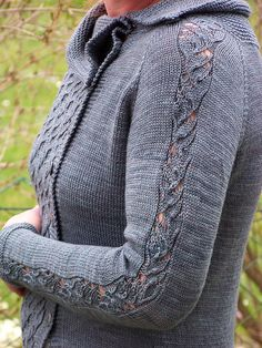 Dawsons Cardigan pattern by Melanie Mielinger