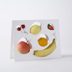 """""""Fruit Template"""" abstract fruitbowl from the Japanese design firm Nendo. $157.00"""