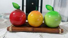 Frutas en totumo