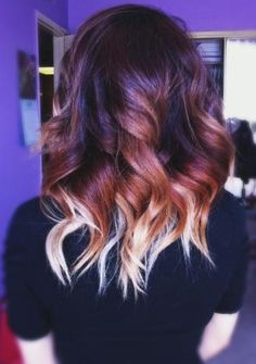 Ombre' colors in for shorter hair lengths.  Colors are natural and real, and blend perfectly.  Salon quality, you can't do this at home with a kit.