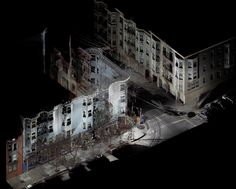 3D scanning of buildings.