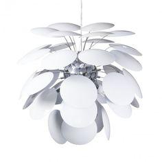 C01-LC1880 REPLICA CIRCA LARGE WHITE PENDANT LIGHT DESIGNER LIGHTING