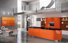 Dexterton Corporation Philippines also represent Stormer Modular Kitchen Cabinets. German Kitchen, Basic Kitchen, Updated Kitchen, Update Kitchen Cabinets, Orange Kitchen, Thrifty Decor, Vintage Kitchen Decor, Kitchen Supplies, Kitchen Ideas